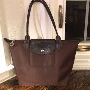 Longchamp brown tote